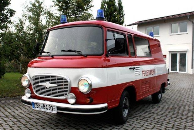Zeitenmobile 187 Barkas B1000 1