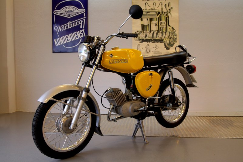 Zeitenmobile 187 Simson S50 N